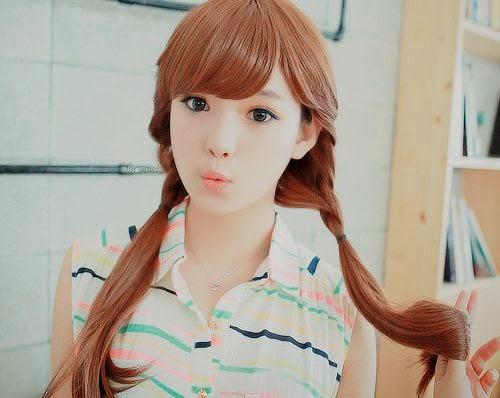 peinados coreanos, tendencia, elegancia, kpop idols