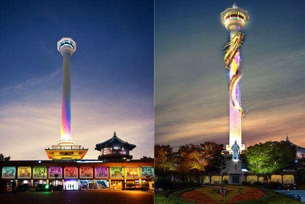 torre de busan, lugares turisticos corea
