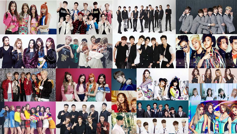 Cultura KPop – Estilo Musical -The K-Pop Idols