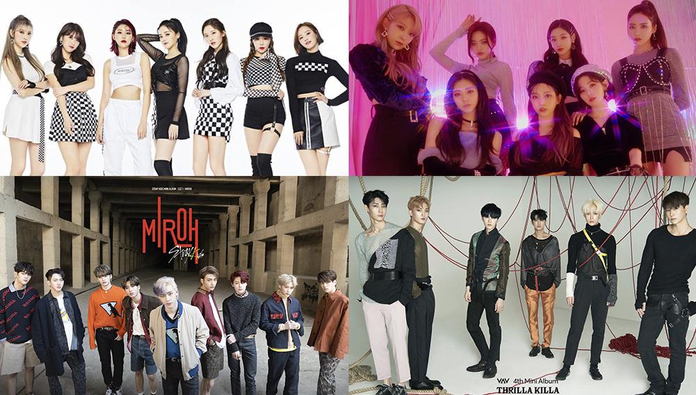Nuevas canciones de Kpop 2019