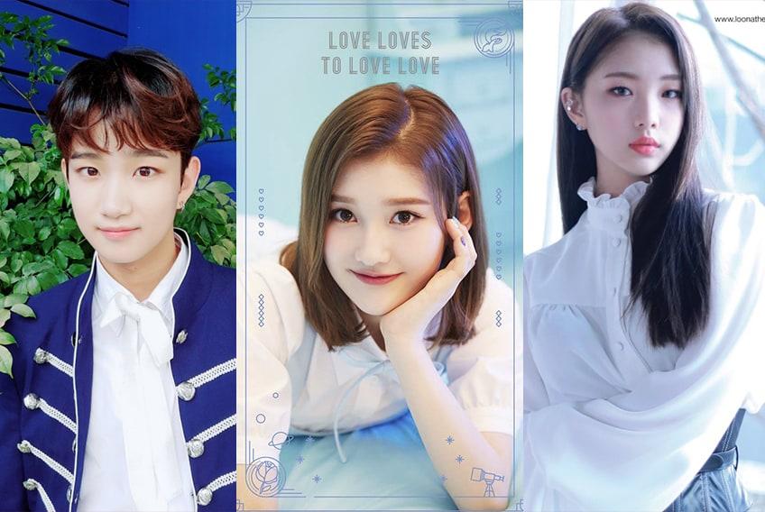 collage kpop - kpop collage 2019 - idols de kpop pequeños - jovenes