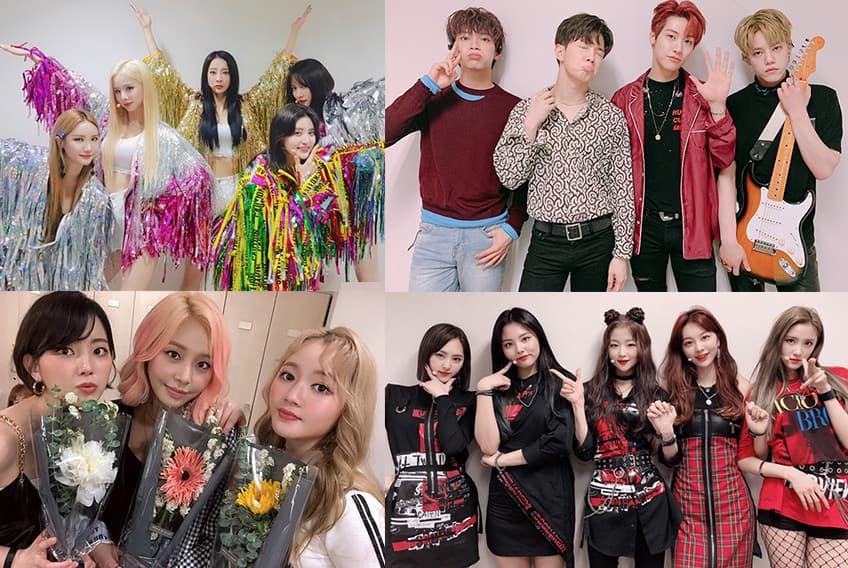 """Actuaciones de EXID, BVNDIT y mas en Inkigayo """"SBS"""" – BTS logra llevarse otra victoria"""