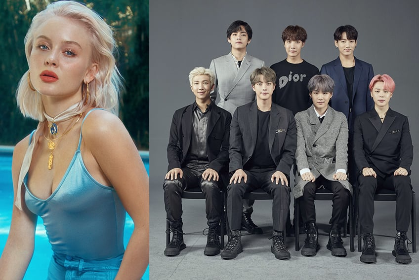 "BTS y Zara Larsson lanzan ""A Brand New Day"" para BTS WORLD"