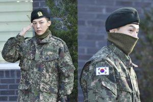 G-Dragon de BIGBANG Sale Oficialmente del Ejército  – Fanáticos Se Reúnen