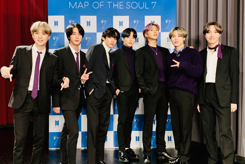 BTS estrena on y nuevo album Map of the Soul: 7