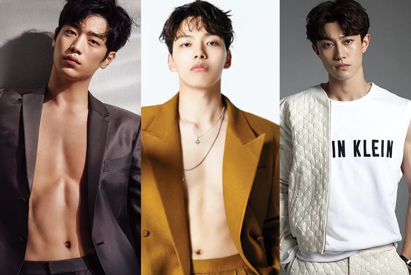 actores coreanos pequeño o jovenes en sus 20 años y menos de 30