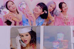 """BLACKPINK y Selena Gomez  Estrenan """"Ice Cream"""""""