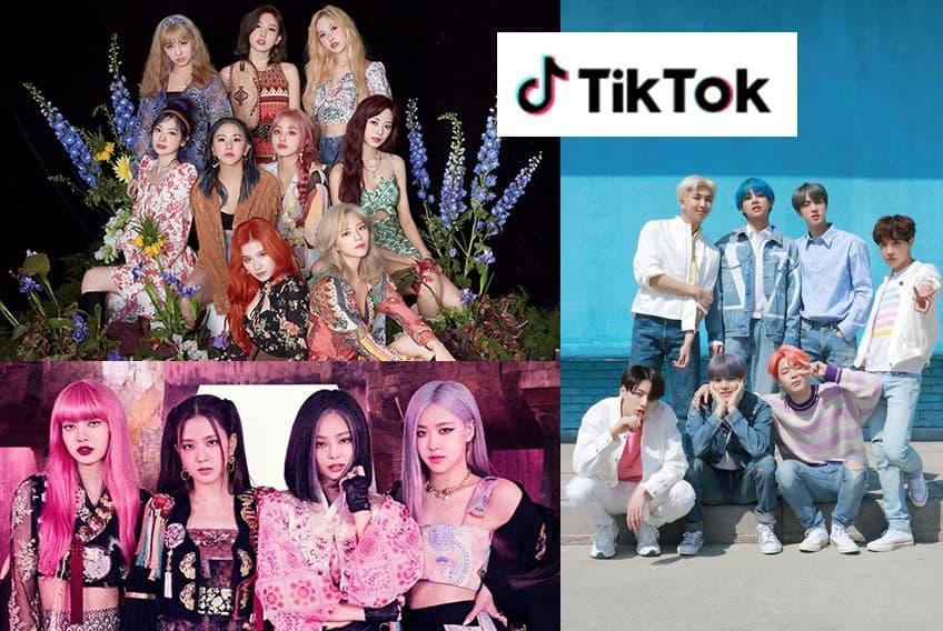 Conoce que Idols de Kpop  puedes Seguir si tienes TikTok