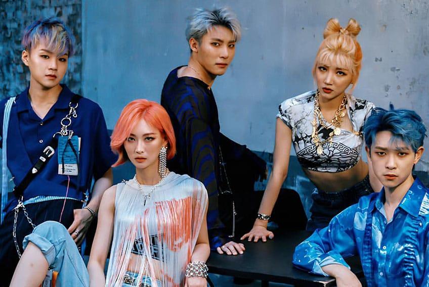 CHECKMATE el nuevo grupo mixto de Kpop 2020